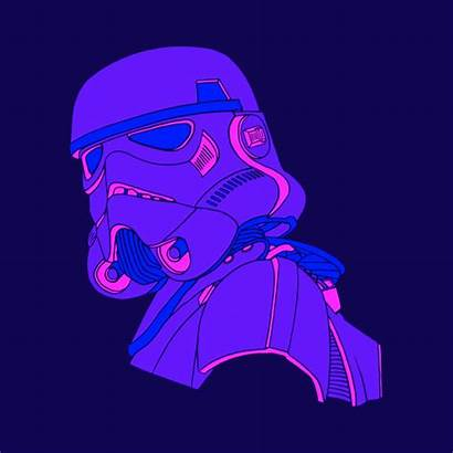 Wars Empire Galactic Gifs Animations Stormtrooper Rogue