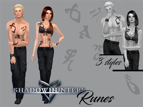 Juliebfmv's Shadowhunters Runes Tattoo