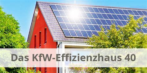 Kfw Effizienzhaus 40 Bauen Fuer Die Zukunft by Durchschnittliche W 228 Rmeverluste Eines Hauses