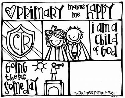 Melonheadz Lds Primary Coloring Pages Clip Sunbeams