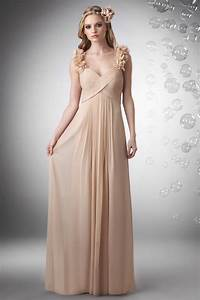 Champagne bridesmaid dresses dresscab for Wedding and bridesmaid dresses