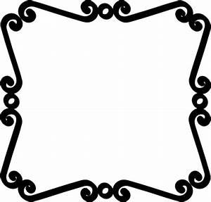 Black Scroll Border Clip Art | Clipart Panda - Free ...