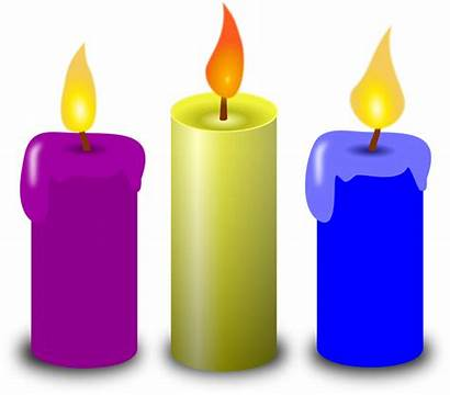 Candles Clipart Vector Colored 1146 1995