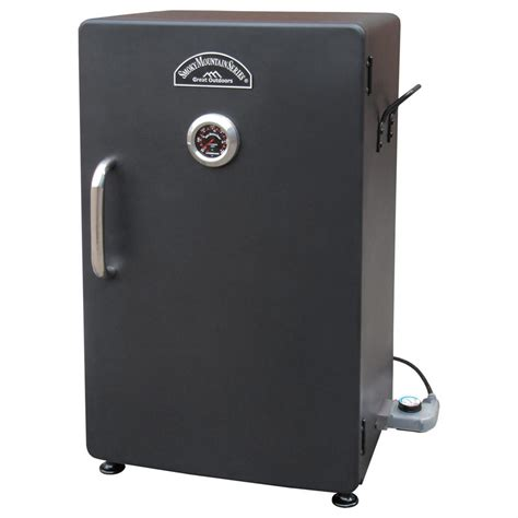 electric smokers landmann smoky mountain 26 quot electric smoker 588488 grills smokers at sportsman s guide