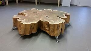 Tisch Aus Holzscheiben : bild baumscheibe holz design holzkunst von ambos bei kunstnet ~ Cokemachineaccidents.com Haus und Dekorationen