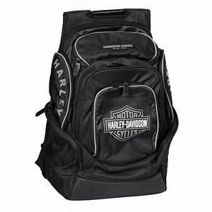 Harley Davidson Rucksack Wasserdicht : harley davidson b s delux backpack black grey at ~ Jslefanu.com Haus und Dekorationen