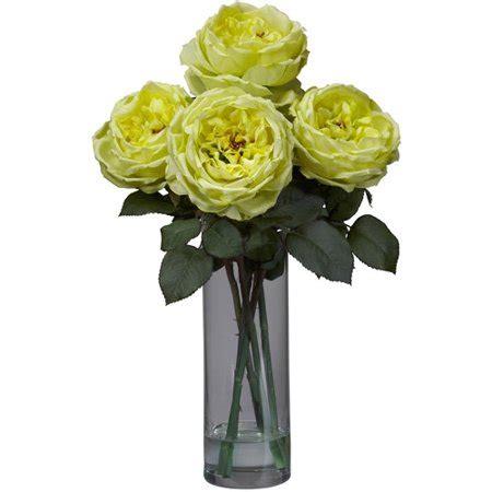 walmart flower vases fancy silk flower arrangement with cylinder vase