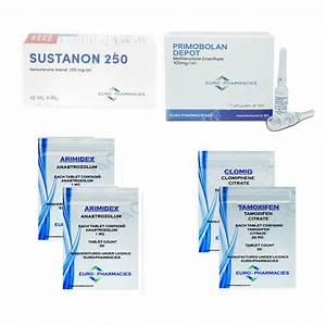 Pack Lean Mass Gain - Euro Pharmacies - Sustanon    Primobolan  8 Weeks