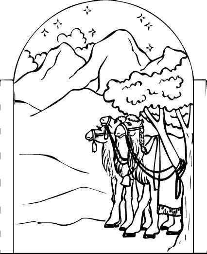 De Wijzen Uit Het Oosten Kleurplaat by Wijzen Uit Het Oosten 1 Kerst Kleurplaten Voor Kleuters