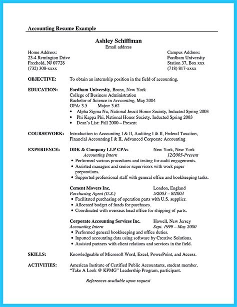 Chronological Resume Canada by Pin On Resume Sles Resume Exles Accountant Resume