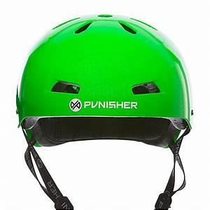 Punisher Premium Metallic Flaked Neon Green Youth