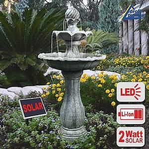Solar Springbrunnen Balkon : solar springbrunnen kr ge gartenbrunnen komplett brunnen zierbrunnen kaskade eur 159 99 ~ Eleganceandgraceweddings.com Haus und Dekorationen
