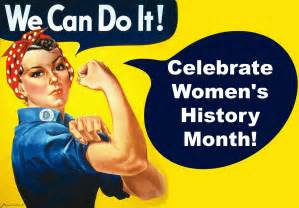 Image result for women;s history month