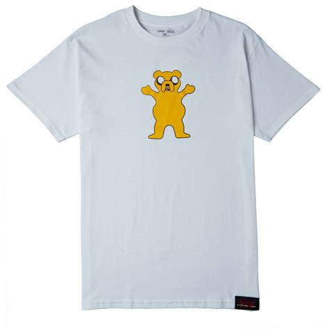 grizzly  adventure time homies  homies  shirt white