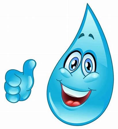 Water Clipart Sprinkler Droplets Sprinkle Cartoon Droplet