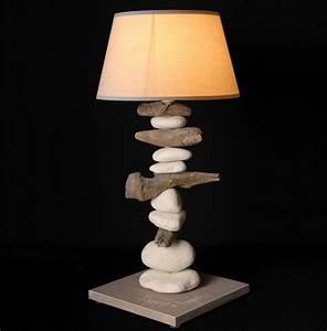 Lampe Design Bois : lampe de table design bois flotte lampe design loftboutik ~ Teatrodelosmanantiales.com Idées de Décoration