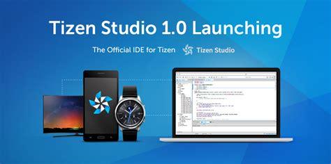 tizen studio 1 0 launching tizen developers