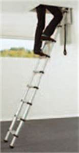 Echelle Escamotable Pour Grenier : echelles echelle escamotable de grenier en aluminium echelles fabricant passerelles ~ Melissatoandfro.com Idées de Décoration