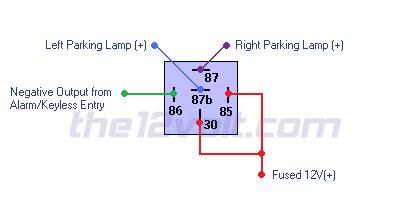 wire diagram negative door trigger  double trigger