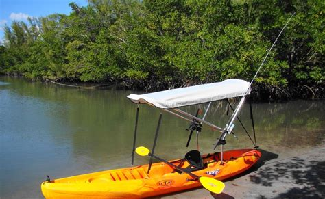 Diy Boat Bimini by Fishing Boat Diy Kayak Bimini Top