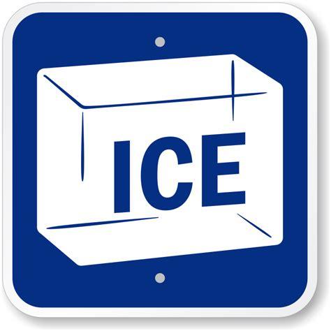 Ice Sign With Symbol   Best Price Online, SKU: K 0177