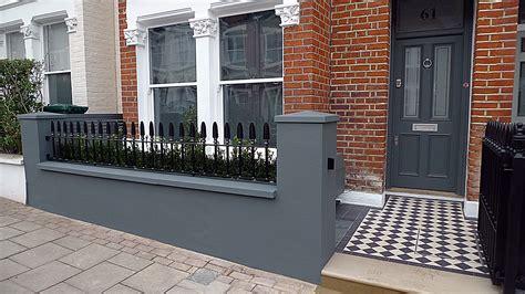 front garden wall designs b london garden blog