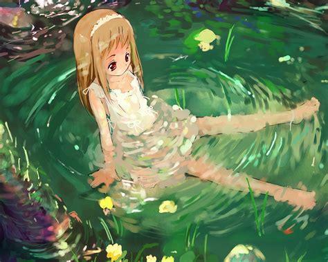Anime Water Wallpaper - aq59 anime water wallpaper