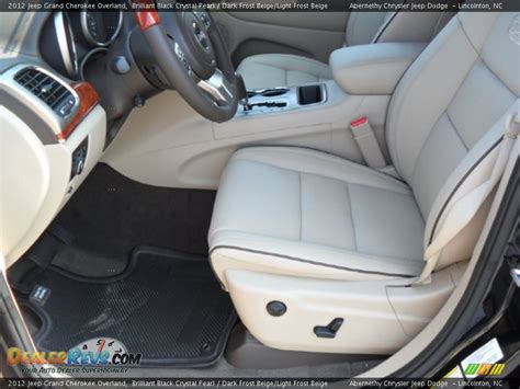 beige jeep grand dark frost beige light frost beige interior 2012 jeep