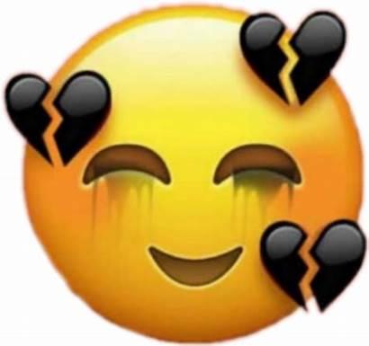 Emoji Sad Broken Heart Face Transparent Heartbreak