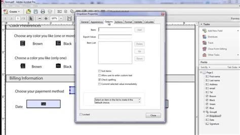 how to make an interactive fillable pdf form using adobe
