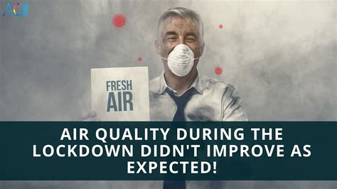 COVID-19 Lockdown didn't relieve the air quality as much ...