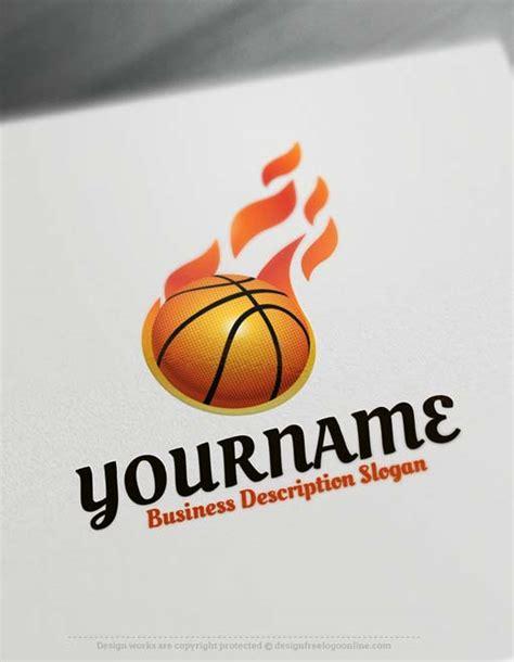 logo maker basketball logo design