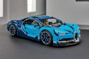 The lego technic bugatti chiron model car building kit can be built together with all lego technic sets and lego bricks for creative construction and extended play. Behold, The Amazing LEGO RC Cars In Sheepo's Garage