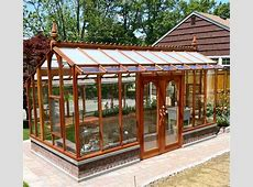 Redwood greenhouse kits by Sturdibuilt Mfg