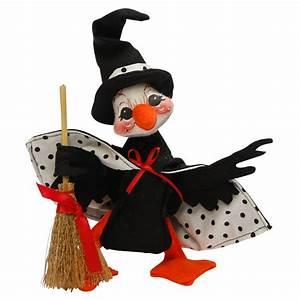 6in Polka Dot Witch Duck Annalee Dolls