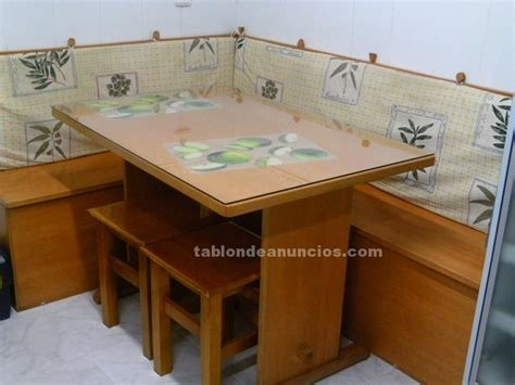 sofa rinconera segunda mano barcelona tabl 211 n de anuncios rinconera de madera con