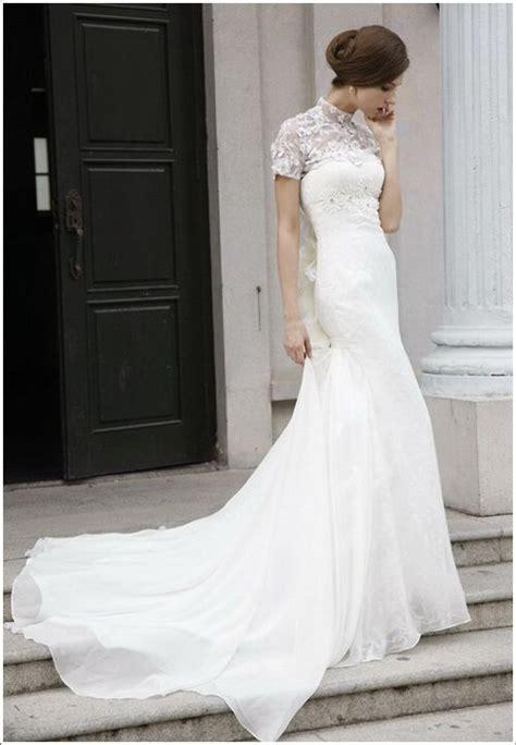 Sleeveless Turtleneck Wedding Dress  Wedding Dreams
