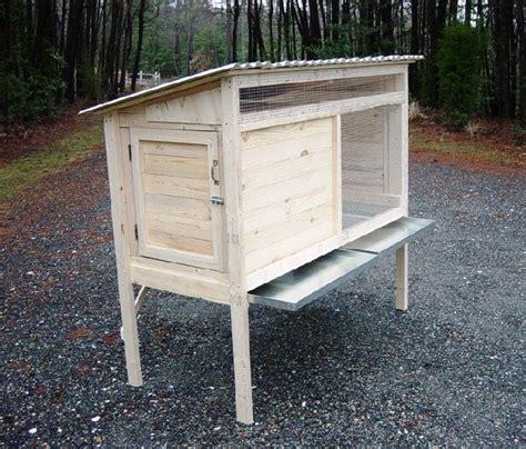build   ft rabbit hutch diy wood plans