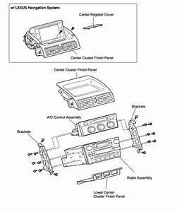Repair guides control panel removal installation for Then remove a c control panel and remove radio screws and remove radio