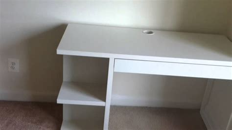 white computer desk with bookshelf ikea malm desk assembly service in baltimore md by dave