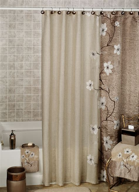 designer fabric shower curtains useful