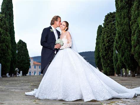 swarovski heiress victoria swarovskis extravagant wedding