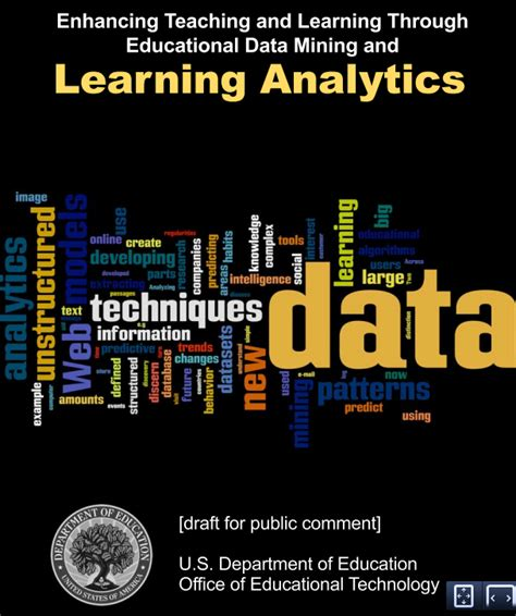 dept  education releases learning analytics issue