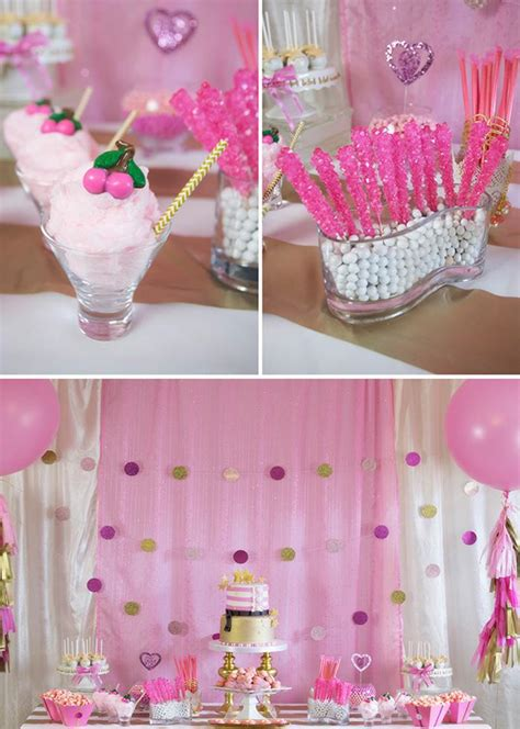 Cute Bridal Shower Themes by Kara S Party Ideas Pink Hollywood Glam Party Planning