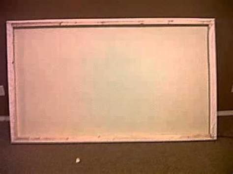 build  projector screen  cheap youtube