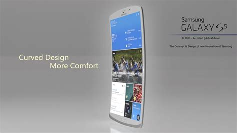 s5 phone samsung galaxy s5 concept phone proposes a design