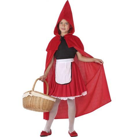 Disfraz Caperucita Roja para Niña【Envío en 24h】