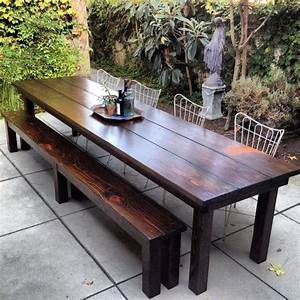 Enchanting Best 25 Rustic Outdoor Dining Tables Ideas On
