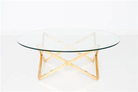 geo coffee table patina