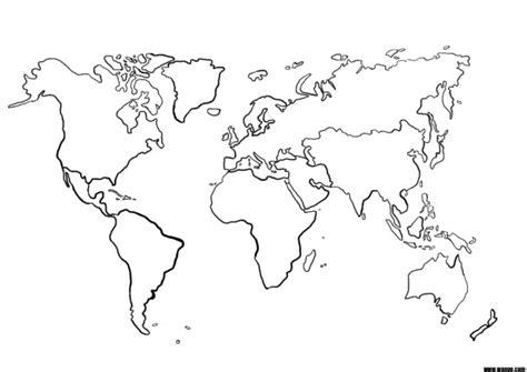 Carte Vierge Du Monde A Completer by Une Carte Du Monde Mappemonde Vierge Pour La G 233 Ographie